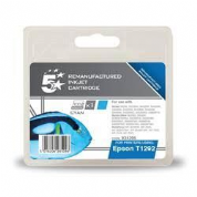 5 Star Epson T1292 Cyan Compatible Ink Cartridge - 934295